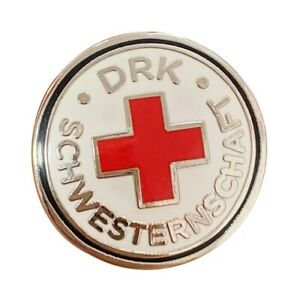 WWII-Era-DRK-Red-Cross-Sisterhood-Combat-Member-German-Medal-Pin-Badge-Replica