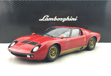 1:18 Kyosho Lamborghini Miura P400SV Die Cast Model Without Antenna