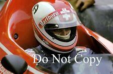 Clay Regazzoni Ferrari 312 B3 Italian Grand Prix 1974 Photograph 1