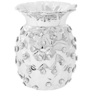 SILVER-PINEAPPLE-TEALITE-TEA-LIGHT-ORNAMENT-HOLDER-WITH-DIAMANTES