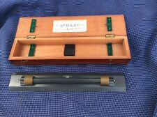 ANTIQUE W F STANLEY ROLLING RULE RULER WITH CASE