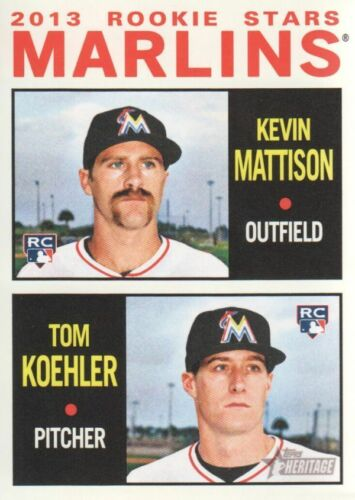 WE COMBINE S//H Finish Your Set 2013 Topps Heritage Baseball #251-500