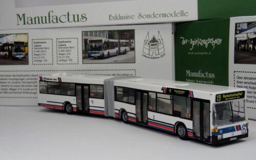 Rietze Sondermodell Edition 2019 Mercedes O 405 GN Stadtverkehr Lübeck 316