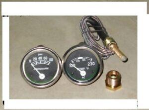 Ford Tractor 2N 8N 9N NAA 601 70 801 901 2000 4000 Amp Oil Temp Gauge Set25.50