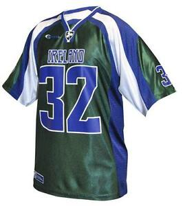 new products 5fb27 598d1 Details about Croker American Football Jersey Mens Irish Ireland  Embroidered Sport Shirt NEW