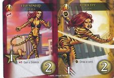 TIGRA Upper Deck Marvel Legendary FRIENDSHIP/FEROCITY DUAL