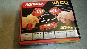 poignees-Ninco-sans-fil-pour-slot-circuit-avec-rail-d-039-alimentation