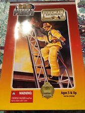 America's Finest 21st Century Toys Fireman Action Figure 12 Inch 2000