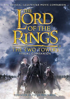 1 of 1 - The  Two Towers  Visual Companion by Jude Fisher (Hardback, 2002)
