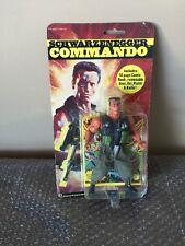 Vintage 1985 Arnold Schwarzenegger Commando Figure by Diamond Toymakers