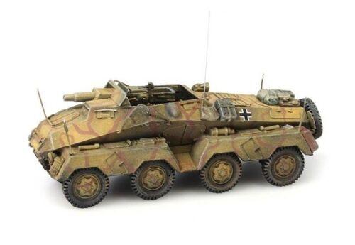 Sdkfz 233 8-Rad Mit 75mm Kanone Artitec 387.142-1//87 H0 WWII Dt Neu