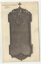 COMO VECCHIA CARTOLINA PREPOSITURALE DI SAN DONNINO COMO 12 GIUGNO 1921