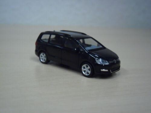 Adventskalender 2013-1:87 Herpa VW Sharan II schwarz