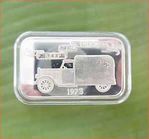 1 Oz 999 Silver Quot 1973 Keep On Trucking Quot Mother Lode Mint