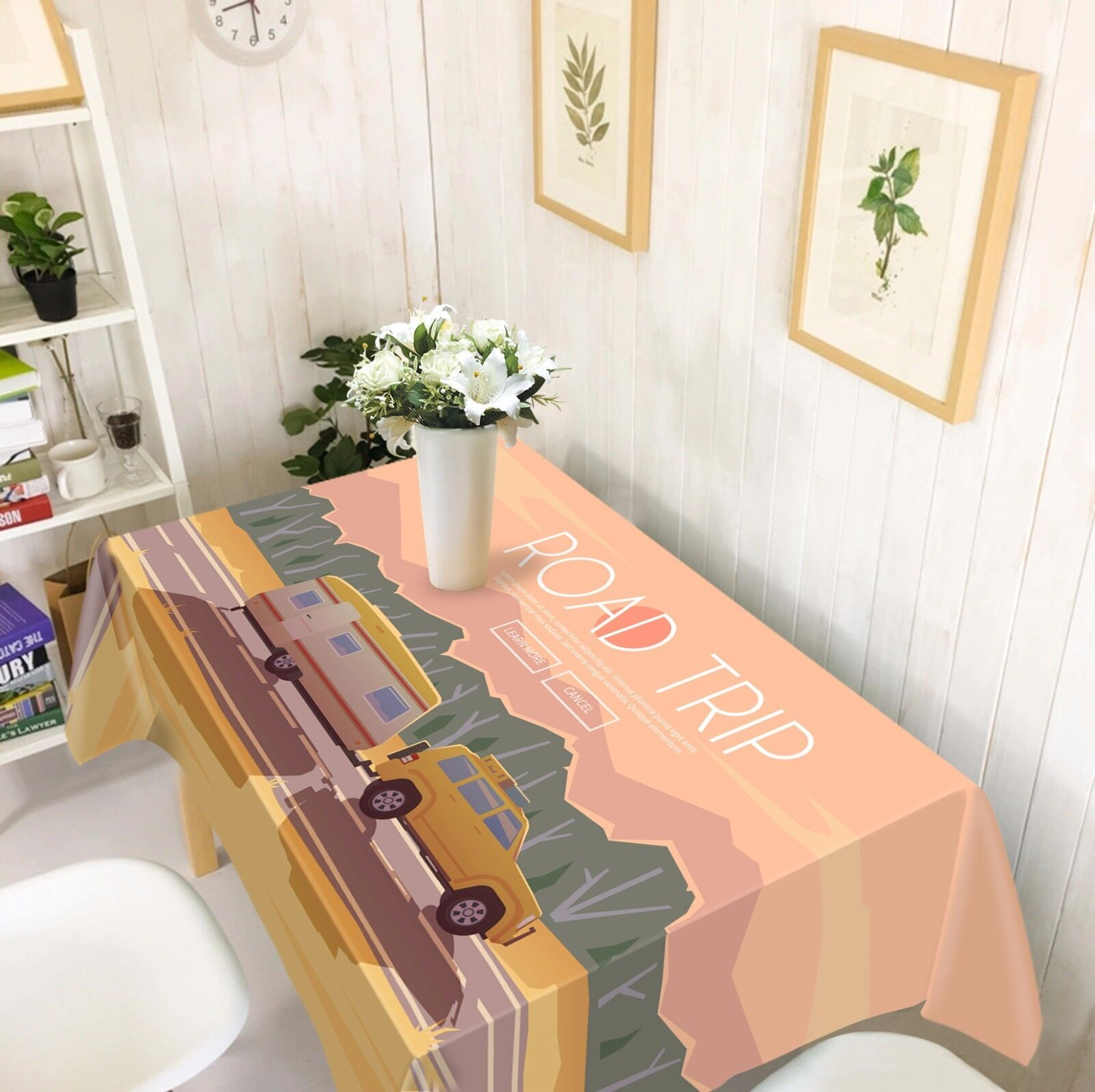 3D Car 4710 Tablecloth Table Cover Cover Cover Cloth Birthday Party Event AJ WALLPAPER AU 46c9e3