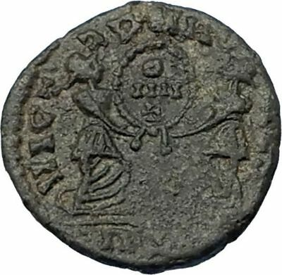 Roman: Imperial (27 Bc-476 Ad) Coins & Paper Money Magnentius 350ad Very Rare Half Centenionalis Lugdunum Ancient Roman Coin I65619 To Ensure A Like-New Appearance Indefinably