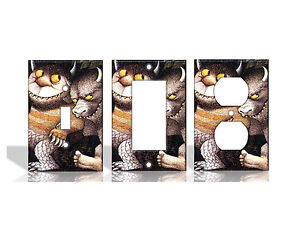Where The Wild Things Are Light Switch Covers Home Decor