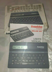 Franklin-Spelling-Ace-SA-98-Spell-Checker-Crossword-Puzzle-Solver-Electronic