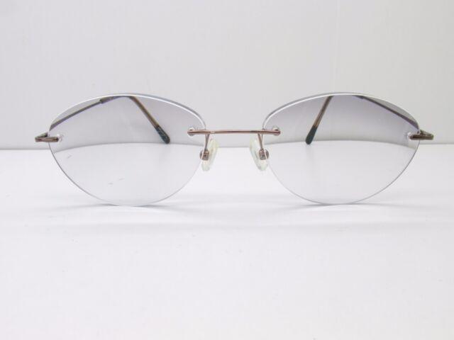 Marchon Airlock 2 Eyeglasses Mod. 760 Coffee Brown Prescription ...