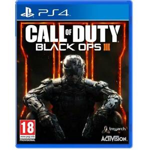 Call Of Duty Black Ops 3 PS4 III - Juego para Sony Playstation 4 Nuevos y