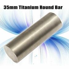 35mm Tc4 Titanium 6al 4v Round Bar Grade 5 Rod Stock 35mm Dia X 100mm Long
