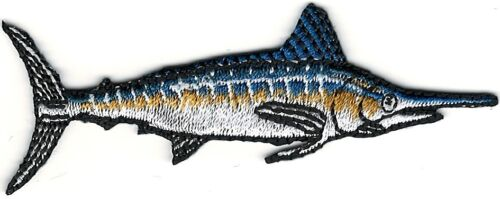 """3/"""" Marlin Sport Trophy Fish Embroidery Patch"""
