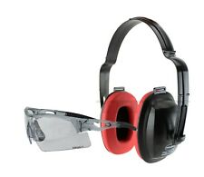 Cbr G20 Earmuff Eye Protection Headphones Glasses Shooting Range Noise Reduction