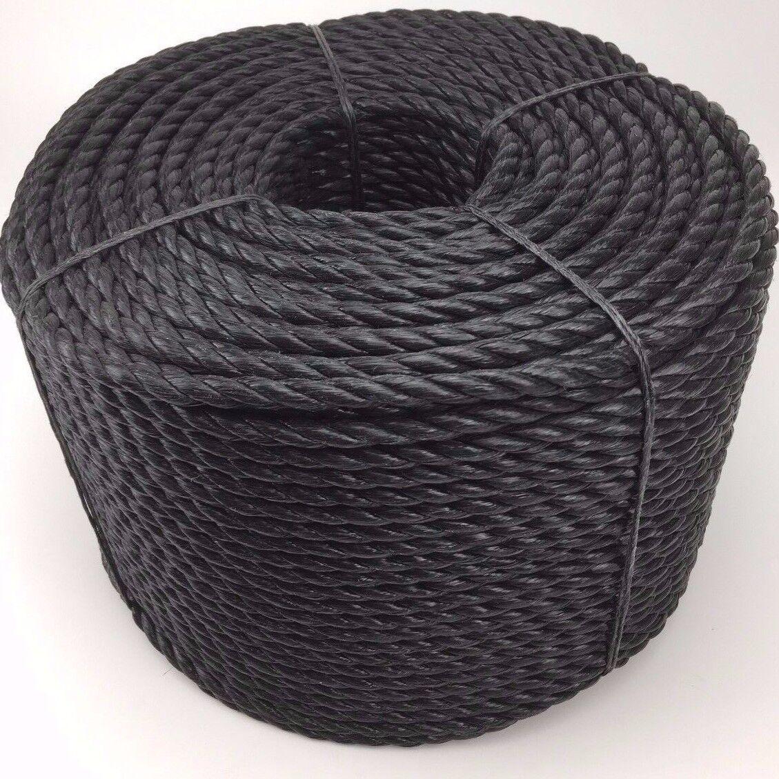 6mm orange Polypropylene Rope x 500m Coil, orange Poly Rope Coils, Polyrope