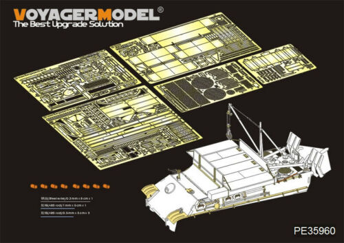 Voyager 1//35 WWII German Bergepanther Ausf.G Detail Set for Takom Models #2107