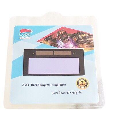 "3-11New* 4-1//4/"" x 2/"" solar Auto Darkening Welding Lens Filter Shade 3-11"