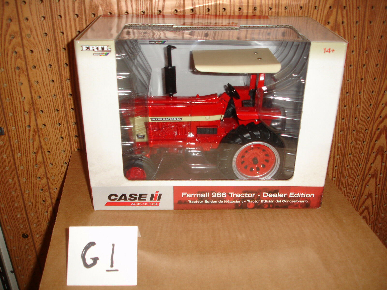 1 16 international 966 special edition toy tractor