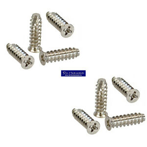 8-Stueck-5-x-16mm-Schraubenkit-fuer-Systemluefter-Gehaeuseluefterschauben-silber