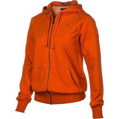 Orange Heather S16821218-02 S Nixon Smors Zip Hoody