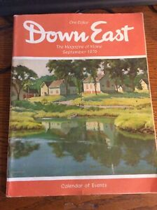 Details about Down East Maine Magazine September 1976 Great Reading And Ads!