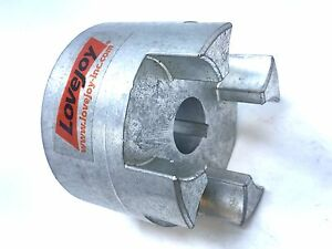Powdered Metal Steel 3.54 Overall Coupling Length Lovejoy 76178 Size CJ 28//38B Curved Jaw Coupling Hub 2.56 OD 1.379 Bore Inch 5//16 x 5//32 Keyway