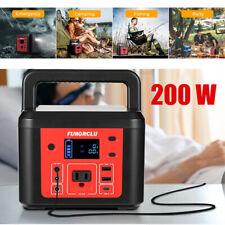 200w Portable Power Station 48000mah Solar Generator Backup Battery Pack Cpap