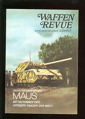 Herzhaft Waffen Revue Panzerkampfwagen Maus 188 Tonnen Der Größte Panzer Der Welt, Dora