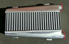 FRONT-MOUNT SAME SIDE INLET OUTLET TURBO INTERCOOLER V MOUNT 19.75X13.75X3.5