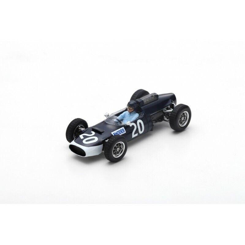 Spark S5293 - COOPER T60 N°20 N°20 N°20 GP Angleterre 1965 John Rhodes  1 43 8e2dab