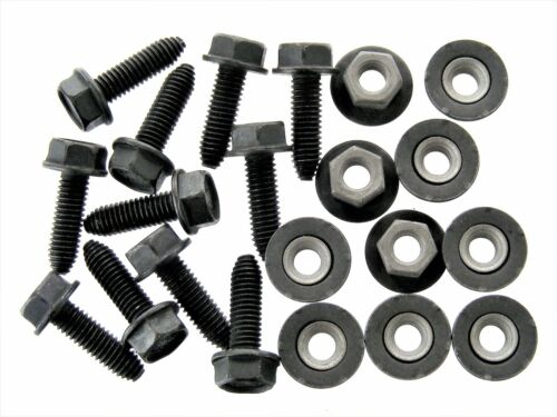 #126 M6-1.0mm x 20mm Long 10mm Hex Body Bolts /& Barbed Nuts For Nissan Qty.20