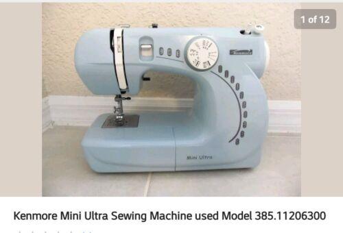 Kenmore Mini Ultra Sewing Machine Model 4040 EBay New Kenmore Sewing Machine Model 385