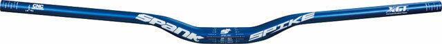 Spank Spike Race Barre 800mm Larghezza 30mm Rise 31.8mm Morsetto Opaca Blu