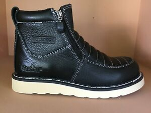 Zipper No Steel Toe Real Leather