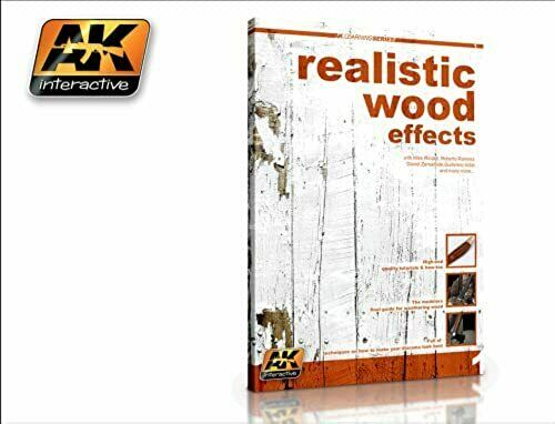 AK Interactive Learning Series Book - Realistic Wood Effects - AKBOOK259