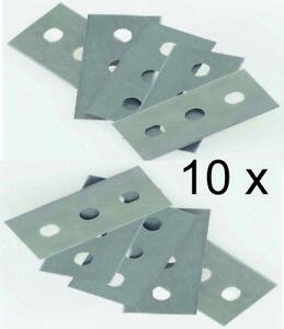 10 Remplacement Couteau Lame Blade Spare Couteau Knifes Lame Grattoir De Cuisson Ceran Set-afficher Le Titre D'origine