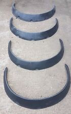 MAZDA MX5 MK1 EUNOS MIATA WIDE / LARGE ARCHES/FLARES SET OF 4 BLACK OR WHITE