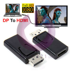 Display-Port-DP-Male-To-HDMI-Female-Flat-Adapter-Connector-Converter-for-HDTV-PC