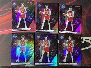 2019-20-Panini-Chronicles-Recon-Jaxson-Hayes-New-Orleans-Pelicans-Lot-Of-6