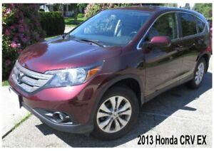 2013 HONDA CRV EX