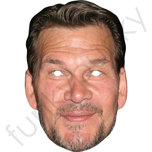 Dirty Dancing Patrick Swayze Modern Celebrity Card Mask Masks Are Pre-Cut